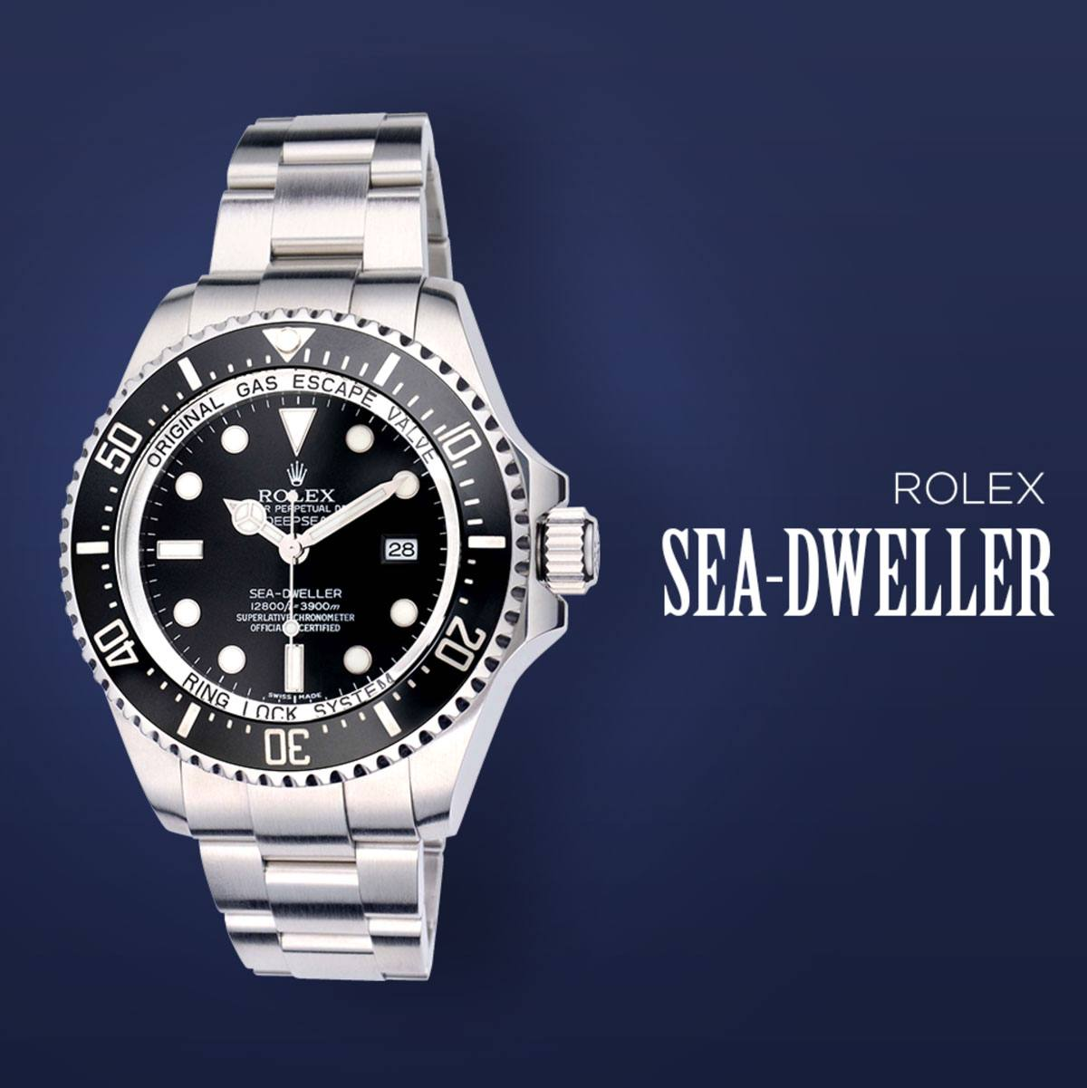 the rolex sea dweller